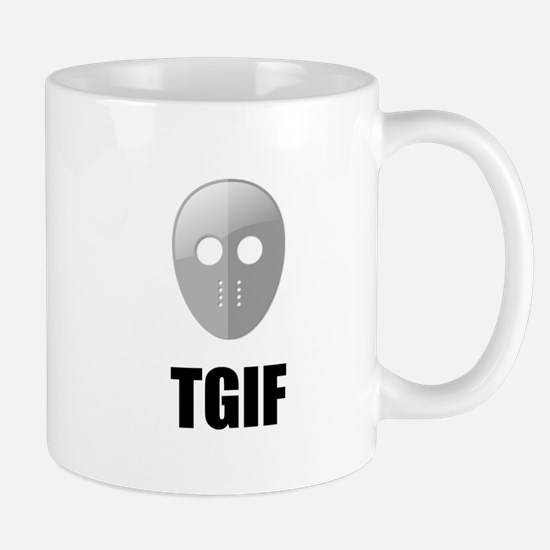 TGIF Jason Hockey Mask Mug