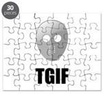 TGIF Jason Hockey Mask Puzzle