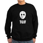 TGIF Jason Hockey Mask Sweatshirt (dark)