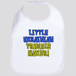 Little Ukrainian Trouble Maker Bib
