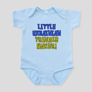 Little Ukrainian Trouble Maker Infant Bodysuit