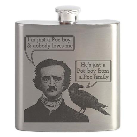 Poe Boy Flask