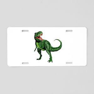 Tyrannosaurus Aluminum License Plate