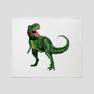 Tyrannosaurus Throw Blanket