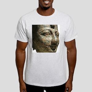 A Egyptian Face in Granite Light T-Shirt