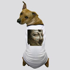 A Egyptian Face in Granite Dog T-Shirt