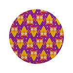 Orange Blue Owl Pattern 3.5