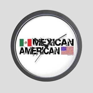 Mexican American Wall Clock