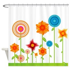 Floral Garden Shower Curtain