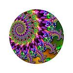 Green Purple Fractal Pattern 3.5