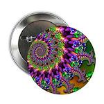 Green Purple Fractal Pattern 2.25