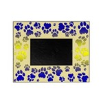 Cougar Tracks Blue Shade Picture Frame