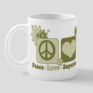 Peace Love Firepower Mug