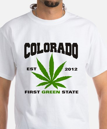 Colorado Cannabis 2012 White T-Shirt