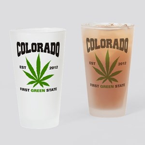 Colorado Cannabis 2012 Drinking Glass
