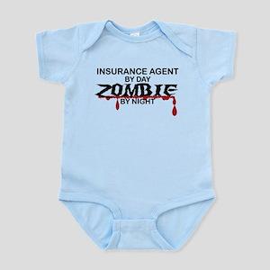 Insurance Agent Zombie Infant Bodysuit