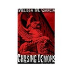 Chasing Demons Rectangle Magnet