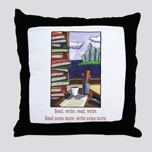 Read Write Throw Pillow