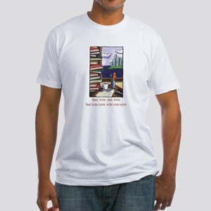 Read Write Fitted T-Shirt