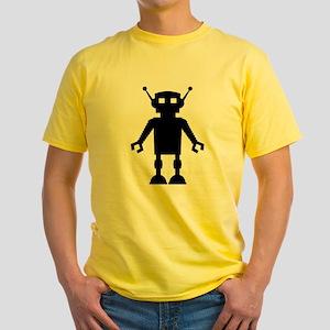 Robot + Octopus Yellow T-Shirt