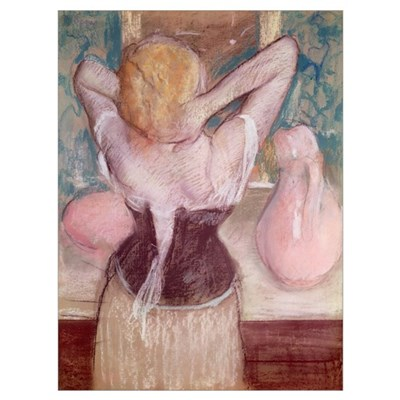 La Toilette (pastel) Poster