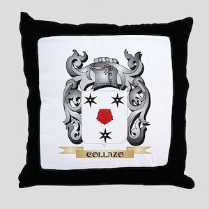Collazo Family Crest - Collazo Coat o Throw Pillow