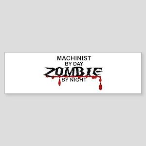 Machinist Zombie Sticker (Bumper)