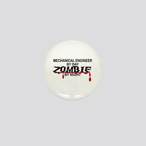Mechanical Engineer Zombie Mini Button