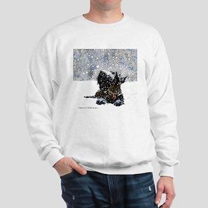 Scottish Terrier Christmas Sweatshirt