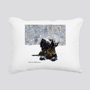 Scottish Terrier Christmas Rectangular Canvas Pill