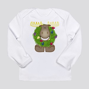 Merry Christmoose Long Sleeve Infant T-Shirt