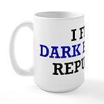 I Find Dark Energy Repulsive Large Mug