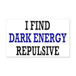 I Find Dark Energy Repulsive Rectangle Car Magnet
