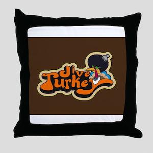 Jive Turkey Throw Pillow
