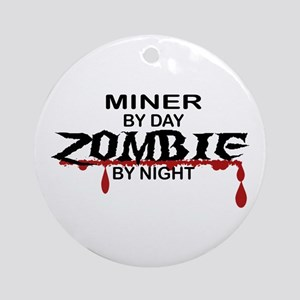Minor Zombie Ornament (Round)