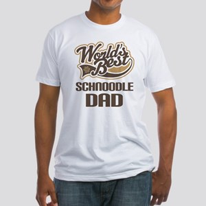 Schnoodle Dad Fitted T-Shirt