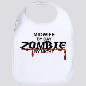 Midwife Zombie Bib