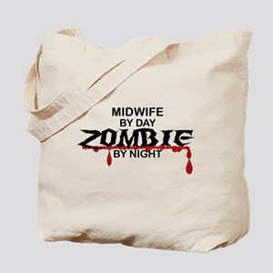 Midwife Zombie Tote Bag