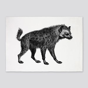 Spotted Hyena 5'x7'Area Rug