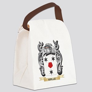 Colle Family Crest - Colle Coat o Canvas Lunch Bag