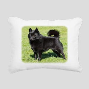 Schipperke AF071D-355 Rectangular Canvas Pillow