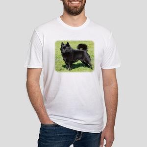 Schipperke AF071D-355 Fitted T-Shirt