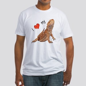I luv my Bearded Dragon Fitted T-Shirt