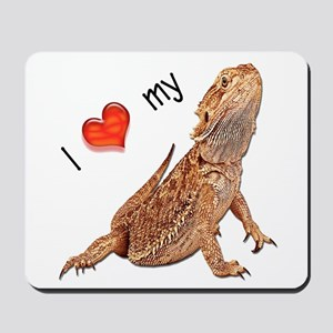 I luv my Bearded Dragon Mousepad