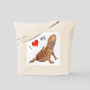 I luv my Bearded Dragon Tote Bag