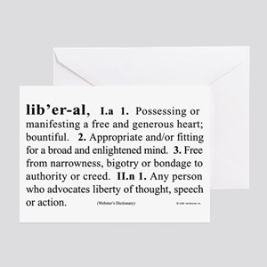 Liberal Greeting Cards (Pk of 10)