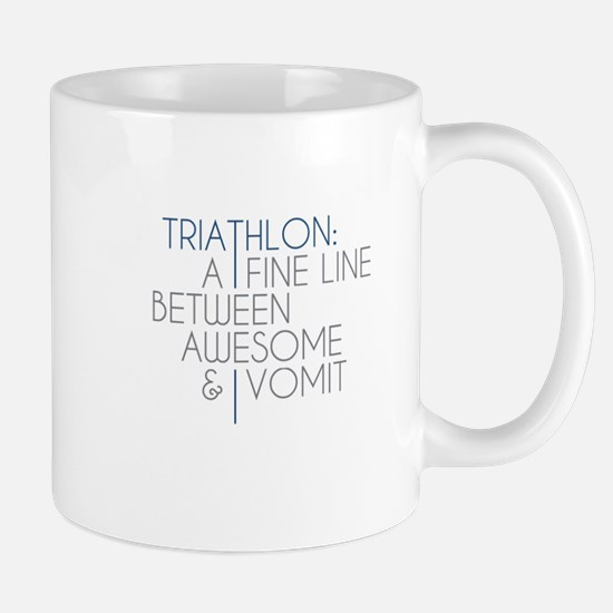 Triathlon Awesome Vomit Mug