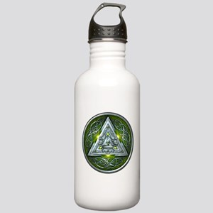 Norse Valknut - Green Stainless Water Bottle 1.0L