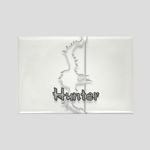 Hunter Logo Rectangle Magnet