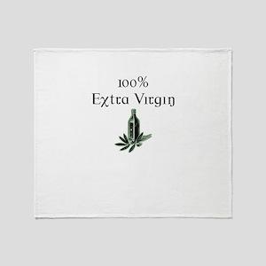 100% Extra Virgin Throw Blanket